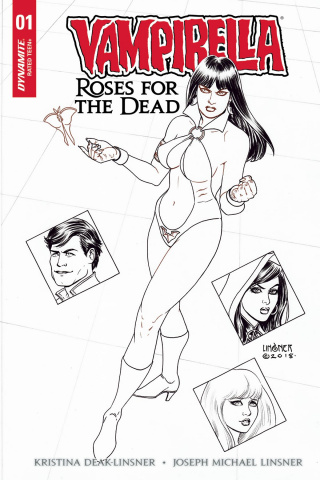 Vampirella: Roses for the Dead #1 (40 Copy Linsner Cover)