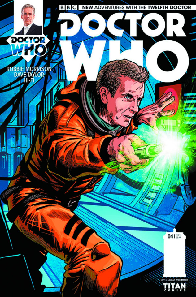 Doctor Who: New Adventures with the Twelfth Doctor #4 (Williamson Cover)