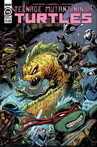 Teenage Mutant Ninja Turtles #108 (Eastman Cover)