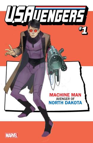 U.S.Avengers #1 (Reis North Dakota State Cover)