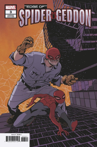 The Edge of Spider-Geddon #3 (Hamner Cover)