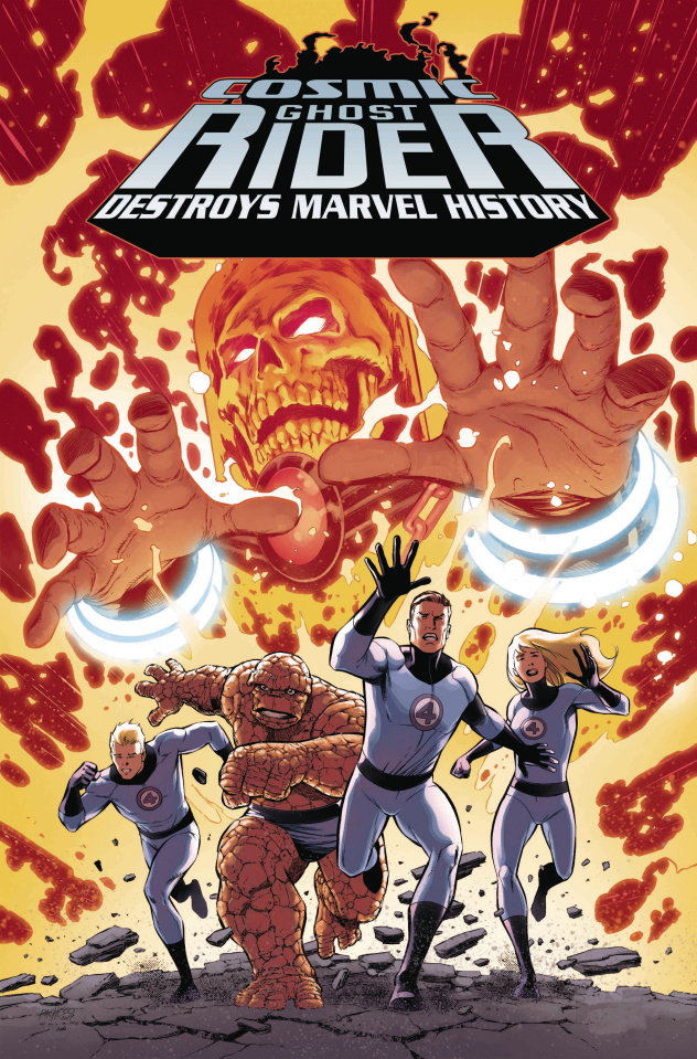 Cosmic Ghost Rider Destroys Marvel History #1 (Pacheco Cover)