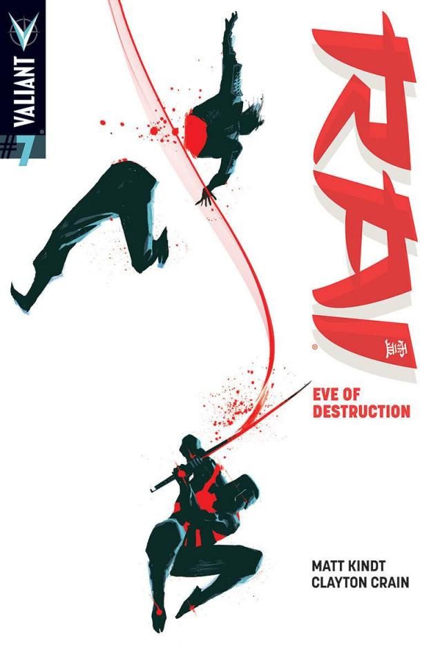 Rai #7 (20 Copy Albuquerque Cover)