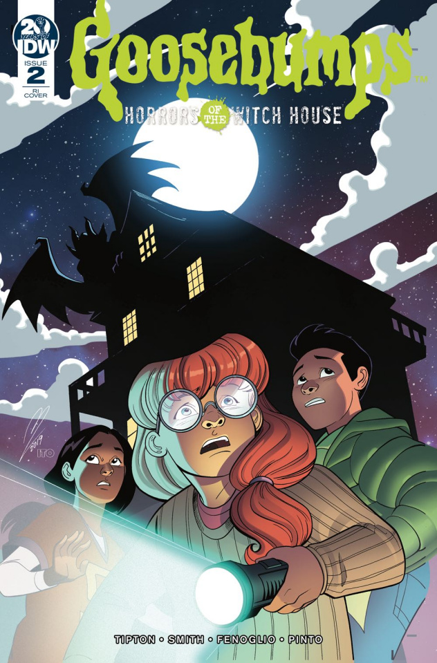 Goosebumps: Horrors of the Witch House #2 (10 Copy Levens Cover)