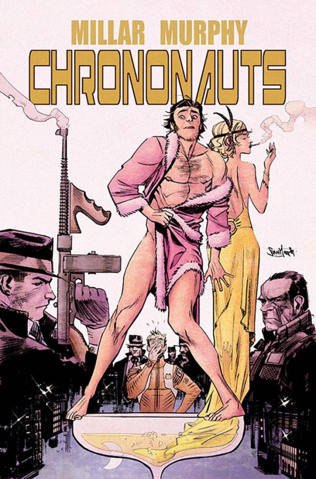 Chrononauts #3 (Murphy Cover)