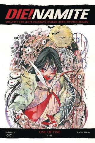 DIE!namite #1 (10 Copy Momoko Vampirella Zombie Cover)