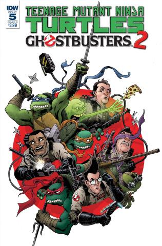 Teenage Mutant Ninja Turtles / Ghostbusters 2 #5 (Wilson III Cover)