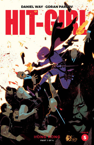 Hit-Girl, Season Two #5 (Scalera Cover)