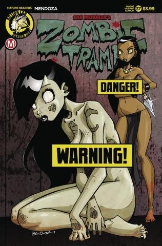 Zombie Tramp #37 (Mendoza Risque Cover)