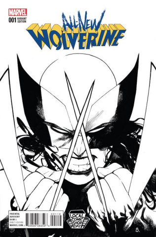 All-New Wolverine #1 (Bengal Sketch Local Comic Shop Day)