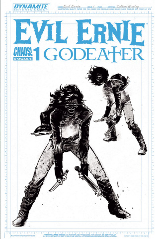 Evil Ernie: Godeater #1 (10 Copy Worley Cover)