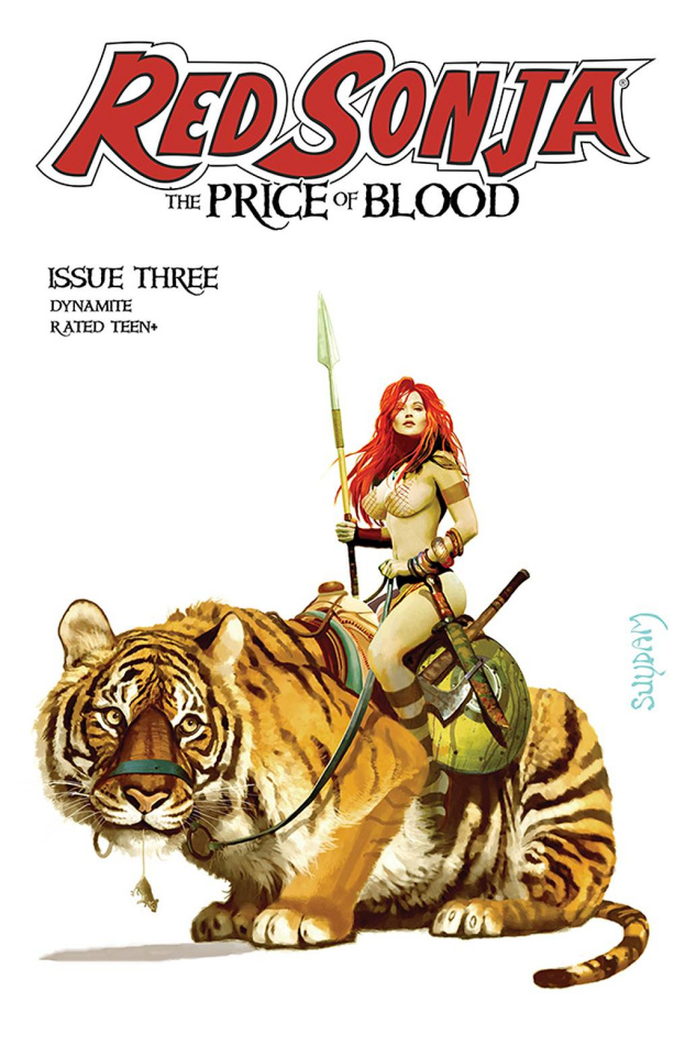 Red Sonja: The Price of Blood #3 (Suydam Cover)