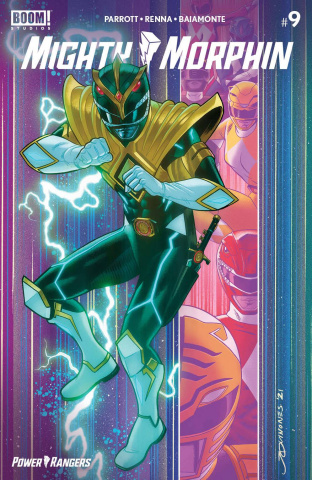 Mighty Morphin' #9 (Reveal Intermix Cover)