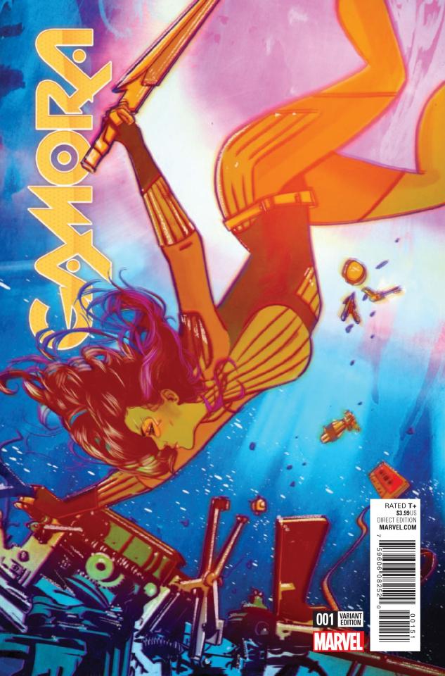 Gamora #1 (Lotay Cover)