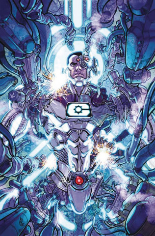 Cyborg #1 (Variant Cover)