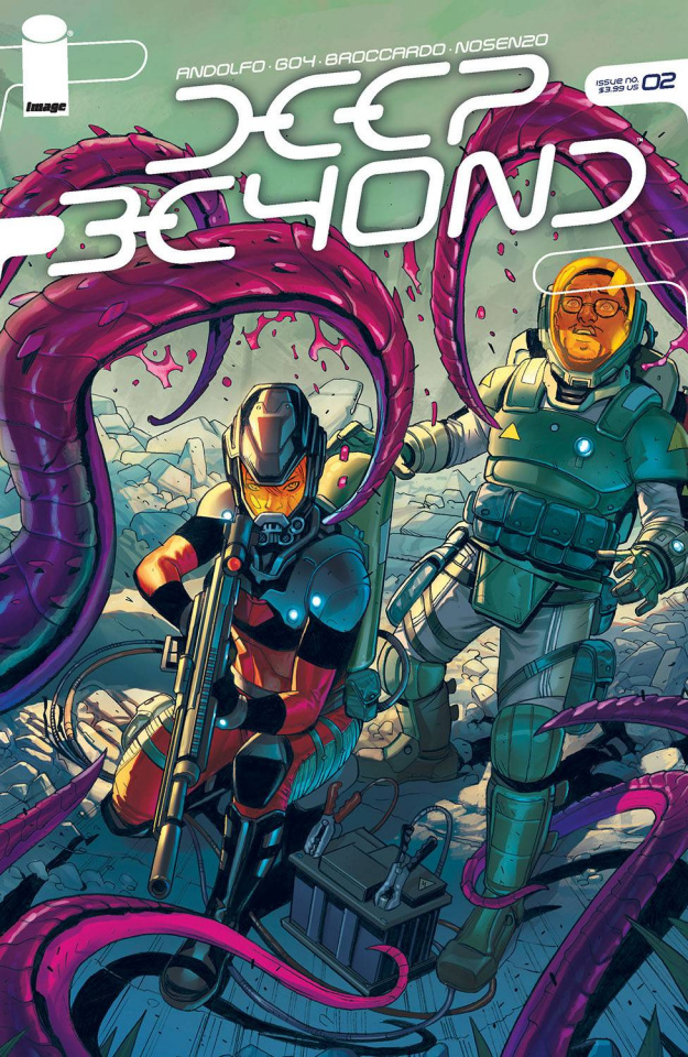 Deep Beyond #2 (Broccardo Cover)