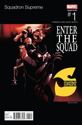 Squadron Supreme #1 (Del Mundo Hip Hop Cover)
