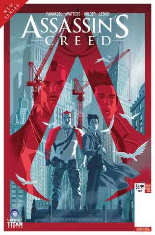 Assassin's Creed: Uprising #2 (Caltsoudas Cover)