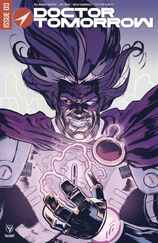 Doctor Tomorrow #3 (Walsh Cover)