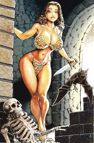 Cavewoman: Return to the Labyrinth #1 (Bud Root Cover)