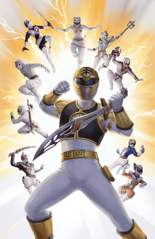 Mighty Morphin' Power Rangers #33 (25 Copy Lithen Cover)