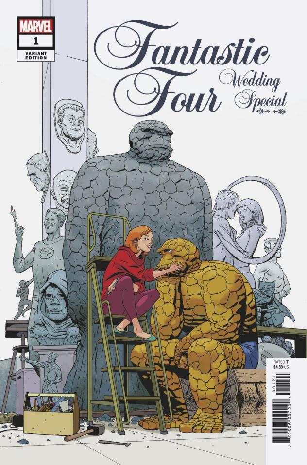 Fantastic Four: Wedding Special #1 (Martin Cover)