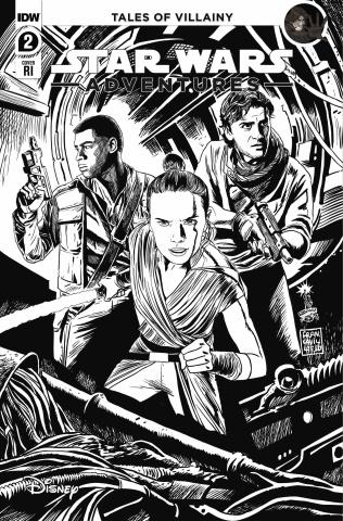 Star Wars Adventures #2 (10 Copy Francavilla Cover)