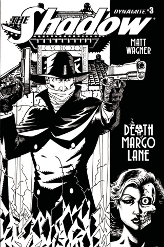 The Shadow: The Death of Margo Lane #3 (10 Copy B&W Cover)