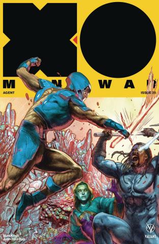 X-O Manowar #20 (20 Copy Interlocking Guede Cover)