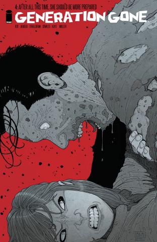 Generation Gone #4 (Walking Dead #128 Tribute Cover)