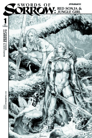 Swords of Sorrow: Red Sonja & Jungle Girl #1 (10 Copy Cover)