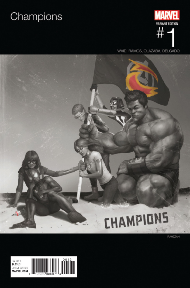 Champions #1 (Hip Hop Cover)