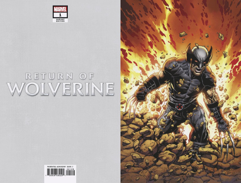 Return of Wolverine #1 (McNiven X-Force Costume Virgin Cover)
