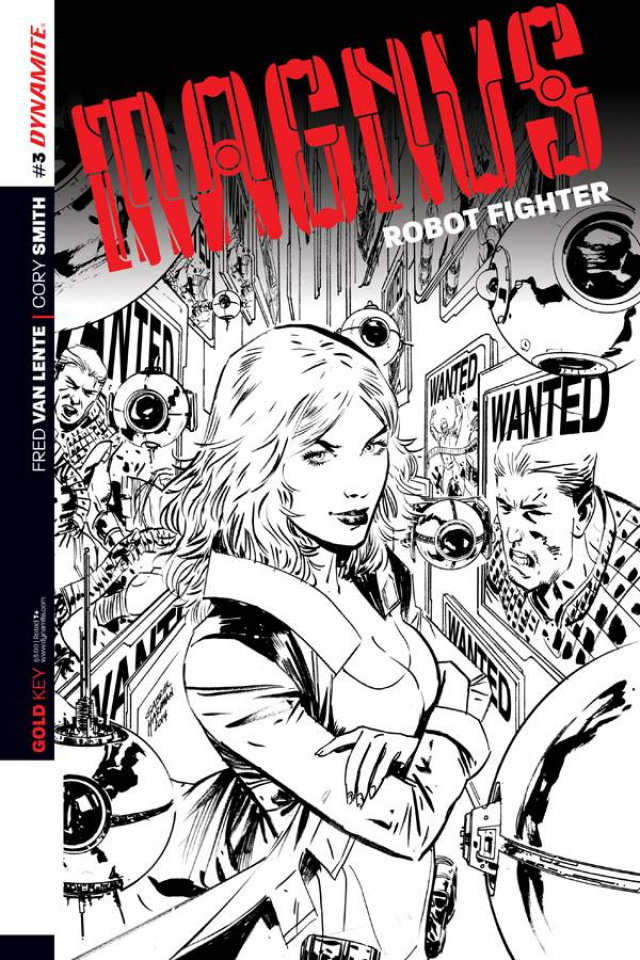 Magnus, Robot Fighter #3 (2nd Printing)