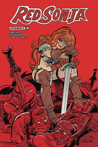 Red Sonja #20 (Bone Cover)