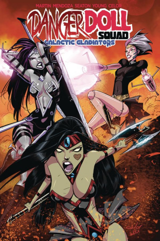 Danger Doll Squad Vol. 2: Galactic Gladiators