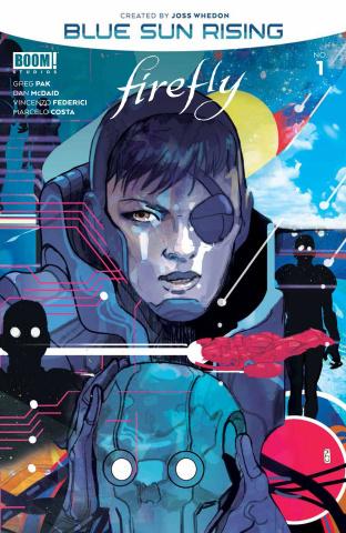 Firefly: Blue Sun Rising #1 (Ward Cover)