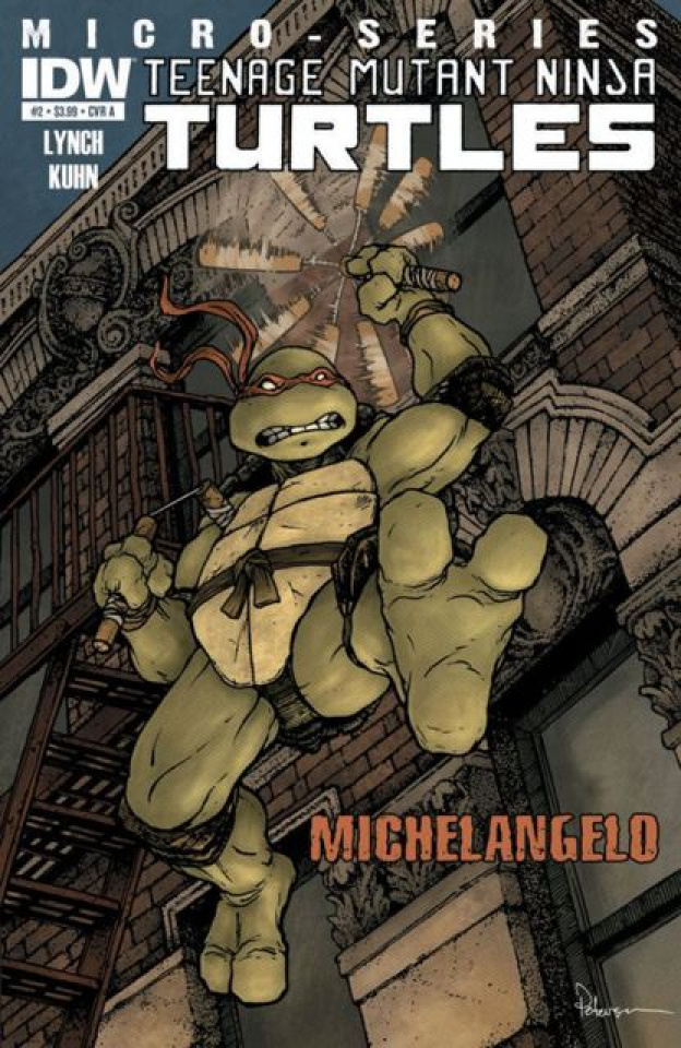 Teenage Mutant Ninja Turtles #2: Michelangelo