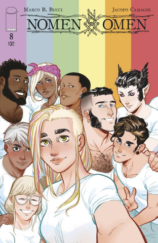 Nomen Omen #8 (Pride Month Camagni Cover)