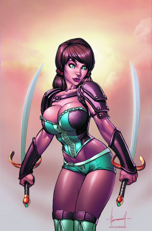 Grimm Fairy Tales: The Warlord of Oz #3 (Garza Cover)