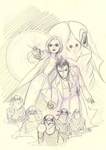 Doctor Who Comics #1 (Momoko Virgin Cover)