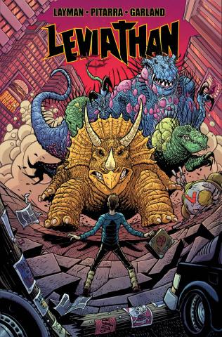 Leviathan #2 (Pitarra & Garland Cover)