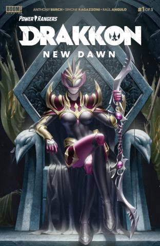 Power Rangers: Drakkon - New Dawn #1 (Secret Cover)