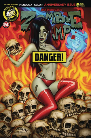Zombie Tramp #50 (McKay Risque Cover)