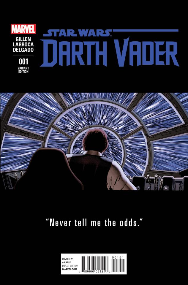Darth Vader #1 (Cassaday Teaser Cover)