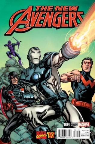 New Avengers #4 (Raney Marvel '92 Cover)
