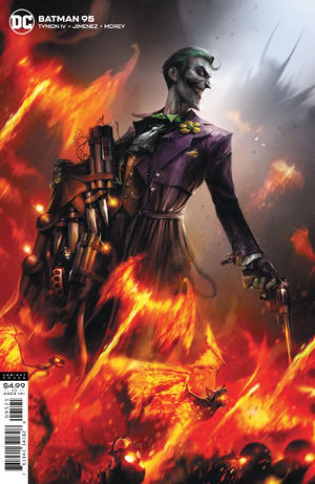 Batman #95 (Francesco Mattina Card Stock Cover)