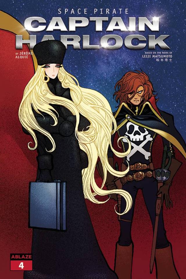 Space Pirate: Captain Harlock #4 (Moritat Cover)