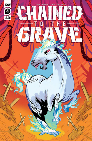 Chained to the Grave #4 (Sherron Cover)