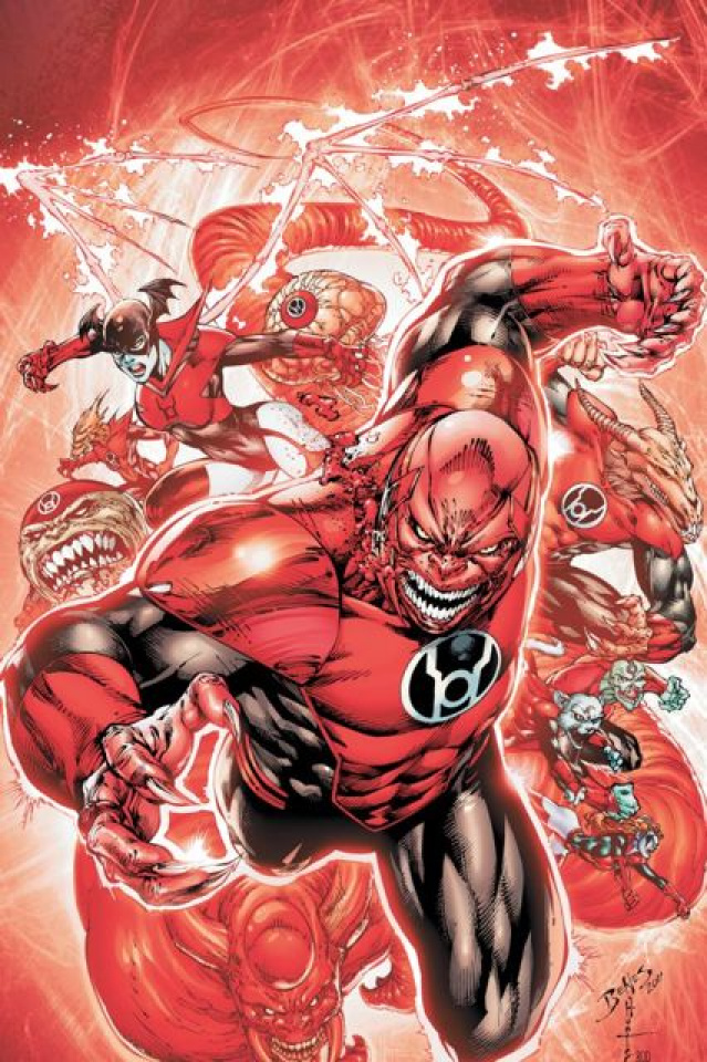Red Lanterns Vol. 1: Blood And Rage